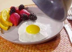 Perfect, non-stick eggs
